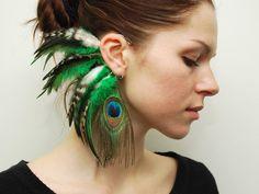 Feather Ear Cuff  Izel