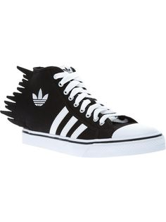 Adidas Originali Da Jeremy Scott Frastagliati Leopardato Sopra (130