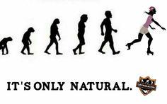 Born to #skate.  #nationalskatingmonth #natural #evolution #skateordie #skateeveryday #letsroll #DevaskateYourCompetition by devaskation