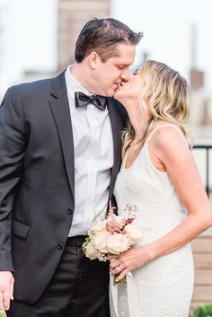 wedding anniversary kiss