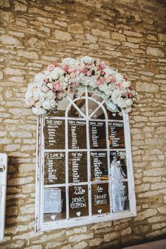 Mirrored Table Plan - Pink, Gold & Glitter Wedding Decor For A Romantic And Feminine Wedding At Caswell House With Bride In Kenneth Winston And Images by Frankee Victoria
