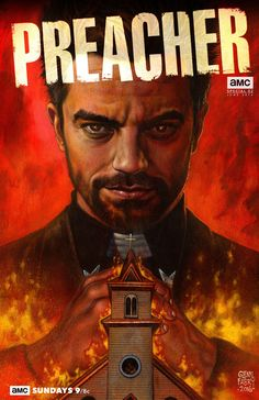 Preacher by Glenn Fabry #AMC