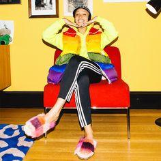 Best Wardrobes in Britain: Adwoa Aboah via @WhoWhatWearUK