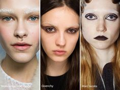 Fall/ Winter 2016-2017 Makeup, Beauty Trends: Bleached Eyebrows