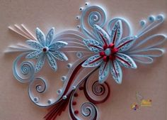 neli: Quilling cards-flowers by ana.m.monteiro.5