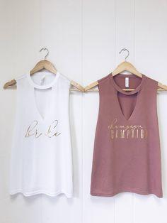 Bride & Champagne Campaign shirts