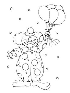 Free Dearie Dolls Digi Stamps Farm Animal Coloring Pages, Colouring Pages, Adult Coloring Pages, Coloring Sheets, Clown Crafts, Carnival Crafts, Free Coloring, Coloring Pages For Kids, Circus Decorations
