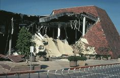 Northridge Mall destruction from 1994 Northridge CA Earthquake. That was one of big department anchor stores, Bullock's, I believe.