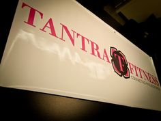 Look out for this Tantra Fitness #Banner at Taboo 2012! (PHOTO) @Tantra Fitness