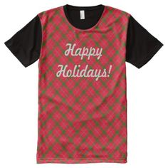 HolidayZ Plaid / Tartan All-Over-Print T-Shirt - patterns pattern special unique design gift idea diy