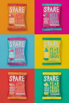 New Logo and Packaging for Spare Snacks by The Clerkenwell Brothers - Ah re! - New Logo and Packaging for Spare Snacks by The Clerkenwell Brothers -