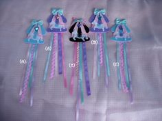 egl_comm_sales: DS: Accessory lucky pack, Carousel Pony brooches, AP style hime-lolita gloves