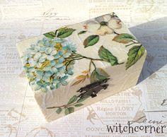 Wedding ring bearer box Wedding box Vintage style by witchcorner, $22.00