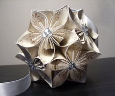Yesterday i pinned another one of these and said i must find out how yesterday i pinned another one of these and said i must find out how to make them they are called kusudama balls and here is how part 1 tutori mightylinksfo