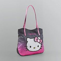 Hello Kitty -Junior's Sequined Tote Bag