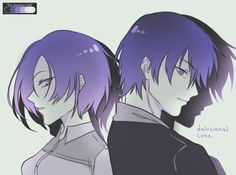 Touka and Ayato the Kirishima's