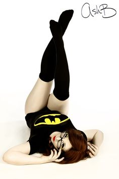 Batgirl Pin Up