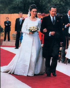 Archiduque Simeon de Habsburgo & Princesa María Paloma de Borbón-Dos Sicilias