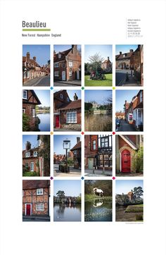 Beaulieu. Posters of cities and towns @ theclassicpostercompany.com