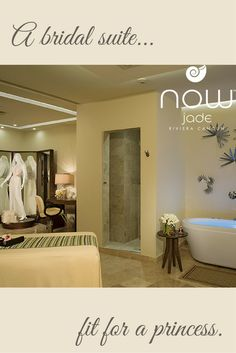 A bride always needs pampering for her special day. Exclusive Spa Bridal Suite at Now Jade is perfect for the future Mrs.