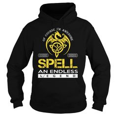 SPELL An Endless Legend (Dragon) - Last Name, Surname T-Shirt