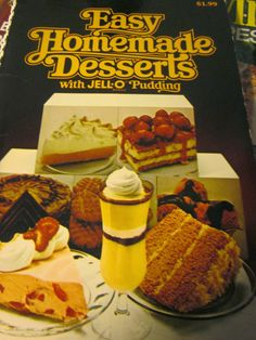 Grandma's Vintage Recipes: CREAMY CHEESE PUDDING