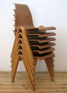 Frank Guille - EnglandStacking chairs for Kandya Ltd c1958