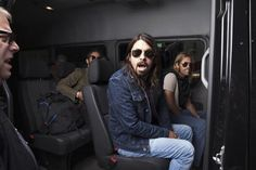 Dave and Taylor... On the Bus