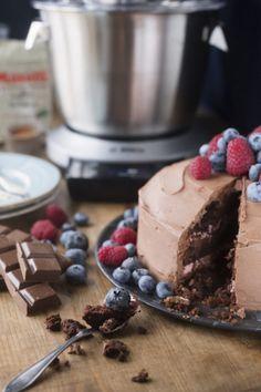 Suklaakakku - Kotikokki.net - reseptit Cheesecake, Food And Drink, Pudding, Sweet, Desserts, Deserts, Cheese Cakes, Custard Pudding, Puddings