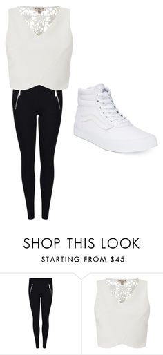 """""""NENE FASHION"""" by arnyshabaker ❤ liked on Polyvore featuring MICHAEL Michael Kors, Lipsy and Vans"""