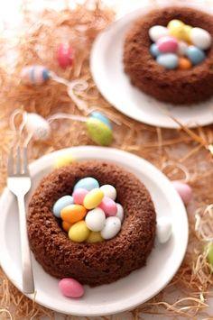 Nid de Pâques   #niddepaques #paques #750grammes  http://www.750g.com/recettes_nids_de_paques.htm