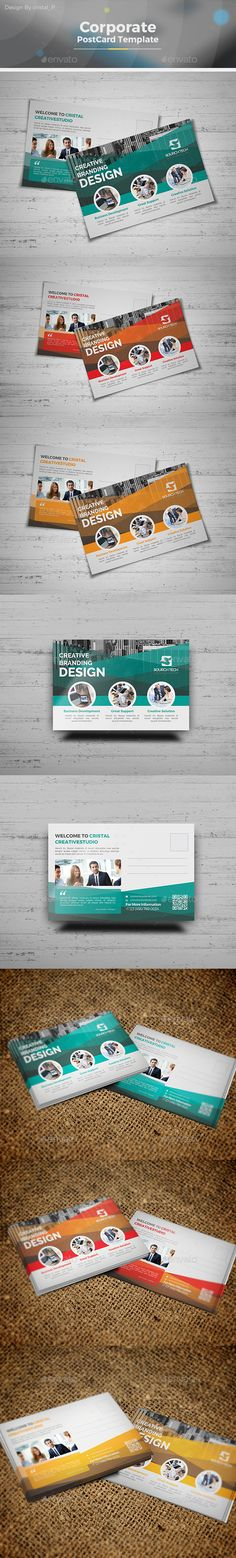 Business Postcard Template - Cards & Invites Print Templates