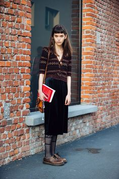 Street Style Vintage, Model Street Style, Casual Street Style, Hipster Grunge, Grunge Goth, Beautiful Outfits, Cool Outfits, Fashion Outfits, Womens Fashion