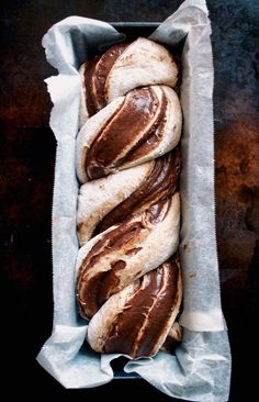 Chocolate Banana Babka
