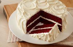 Recetas de Pastel red velvet HERSHEY'S  Siempre he visto éste pastel en las redes sociales pero no he podido conseguirlo en mi ciudad. Me llama tanto la atención que taaaal vez lo haga... algún día... Espero que me quede igual que en las fotos :D