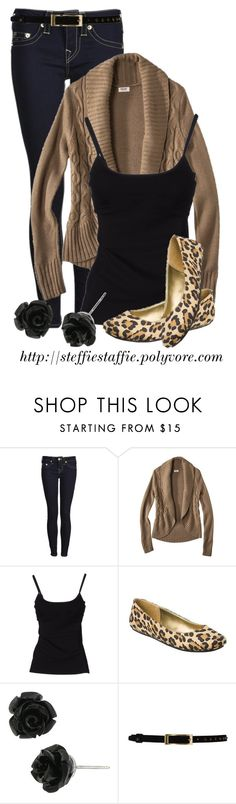"""""""Black, Camel & Leopard"""" by steffiestaffie ❤ liked on Polyvore featuring True Religion, Mossimo Supply Co., D&G, Betsey Johnson and Temperley London"""