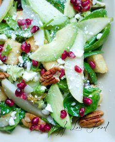 Winter Salad with a citrus vinaigrette.