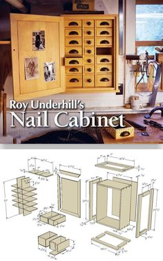 Nail Cabinet Plans - Workshop Solutions Projects, Tips and Tricks   WoodArchivist.com