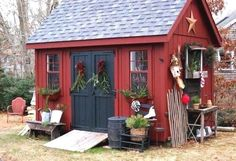 Unordinary Backyard Storage Shed Makeover Design Ideas - Unordinary Backyard Storage Shed Makeover Design Ideas. Extraordinary backyard storage shed mak - Wood Shed Plans, Diy Shed Plans, Storage Shed Plans, Storage Ideas, Shed Ideas, Storage Design, Storage Organization, Backyard Storage Sheds, Backyard Sheds