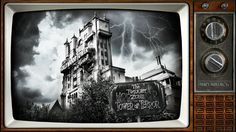 Our Newest Desktop/Digital Wallpaper Celebrates The Twilight Zone Tower of Terror Disney Rides, Disney Fun, Disney Movies, Walt Disney, Disney Stuff, Nightmare Before Christmas Wallpaper, Hollywood Tower Hotel, Wallpaper Iphone Disney, Wallpaper Desktop