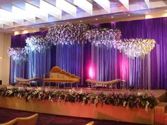 5 Creative Tips: Wedding Flowers Wildflowers Wooden Boxes wedding flowers orchids branches. Desi Wedding Decor, Wedding Stage Decorations, Engagement Decorations, Backdrop Decorations, Flowers Decoration, Backdrops, Wedding Stage Design, Wedding Reception Backdrop, Wedding Mandap