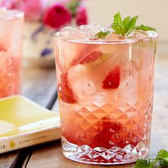 Bourbon-Strawberry S