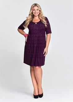 Plus Size Dresses - Maxi & Large Sizes Australian Dresses | Big Ladies, Casual, Black, White, Size 14 Plus Dresses & More - FLIPSIDE DRESS - Virtu