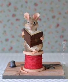 Beatrix Potter Mouse Cake ~ Lovin' From the Oven