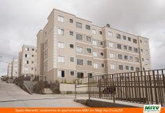 Paisagismo do Morandi. Condomínio fechado de apartamentos localizado em Mogi das Cruzes / SP