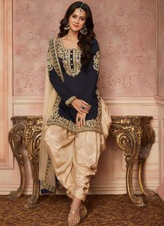Looking to buy Indian clothes online ✓ Shop for designer salwar kameez with latest celebrity designs, including Anarkali suits, dresses, lehenga cholis now! Indian Suits Punjabi, Punjabi Wedding Suit, Punjabi Dress, Indian Attire, Indian Wear, Indian Navy, Punjabi Salwar Suits, Patiala Suit, Wedding Salwar Suits