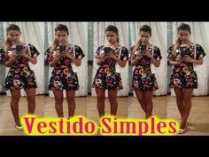 Costura para iniciantes #vestido Simples por janaina pauferro - YouTube