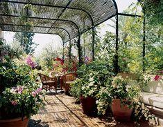 Marella Agnelli, Marrakech, Photographed by Eric Boman, Vogue, August 2006 {décor inspiration | house & garden : vogue's best summer homes}