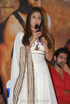 Nayanthara at Krishnam Vande Jagadgurum Success Meet