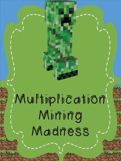 Find tools to optimize learning with Minecraft. Primary Maths Games, Math Activities, Math Games, Minecraft Activities, Minecraft Classroom, Classroom Teacher, Minecraft School, Math For Kids, Fun Math